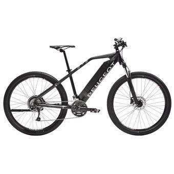 Vélo électrique Peugeot EM03 Moteur roue arrière Taille 43500 WH Noir
