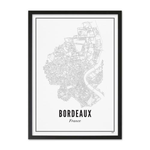 Affiche Wijck 50 x 70 cm Bordeaux