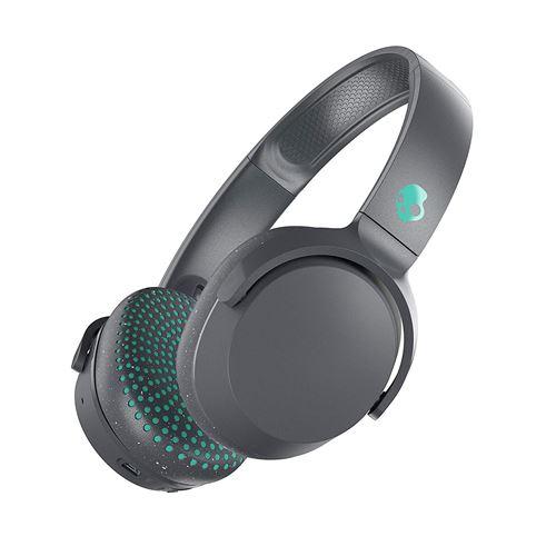 Casque Bluetooth Skullcandy Riff Gris