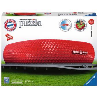 Puzzle 3D 216 pièces Ravensburger Allianz Arena