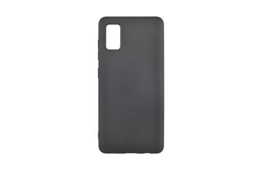 Coque en silicone On Earz Mobile Gear pour Samsung Galaxy A41 Noir