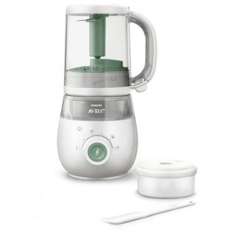 Robot cuiseur mixeur Philips 4 en 1 pour bébé SCF88501 400 W Blanc