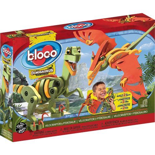 Kit créatif Vélociraptor et Ptérosaure Bloco
