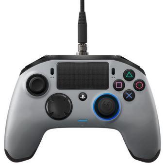 Manette Nacon Revolution Pro Controller Argent pour PS4