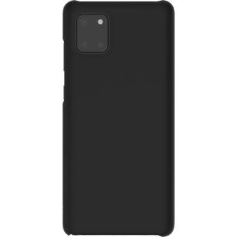 Coque en silicone Samsung Noir pour Note 10 Lite