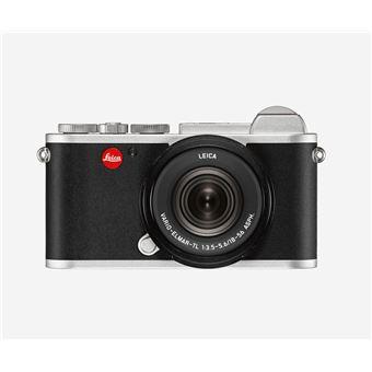 Hybride Leica CL Argent anodisé + Objectif Vario Elmar TL 18-56 mm f/3.5-5.6