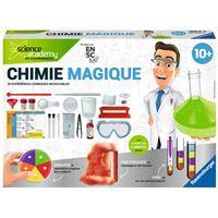 Jeu scientifique Ravensburger ScienceX Chimie magique