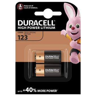 DURACELL SPE ULTRA 123 X2