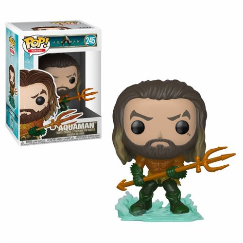 Figurine Funko Pop! Vinyl DC Univers Aquaman Arthur Curry en super costume