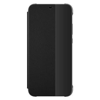 Etui folio Huawei Noir pour P20 Lite
