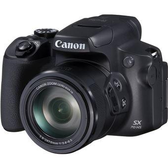 Bridge numérique Canon PowerShot SX70 HS Noir