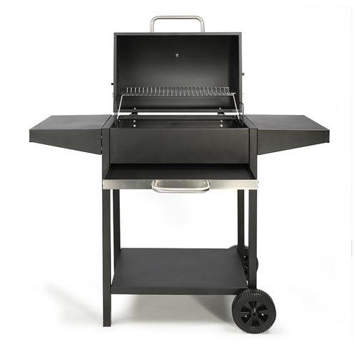 Barbecue à charbon rectangle Livoo DOC250 Noir