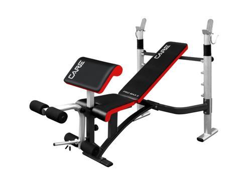 25 Sur Banc De Musculation Care Pro Max Ii Musculation