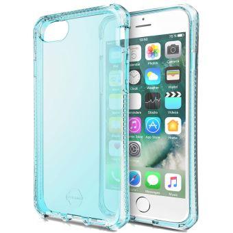 Coque semi-rigide Itskins Bleue translucide pour iPhone 6, 6s, 7 et 8