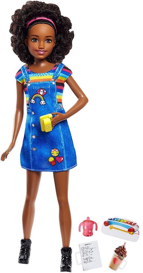 Poupée Barbie Skipper Babysitter Café Mattel - Poupée. Achat et vente de jouets, jeux de société, produits de puériculture. Découvrez les Univers Playmobil, Légo, FisherPrice, Vtech ainsi que les grandes marques de puériculture : Chicco, Bébé Confort, Mac