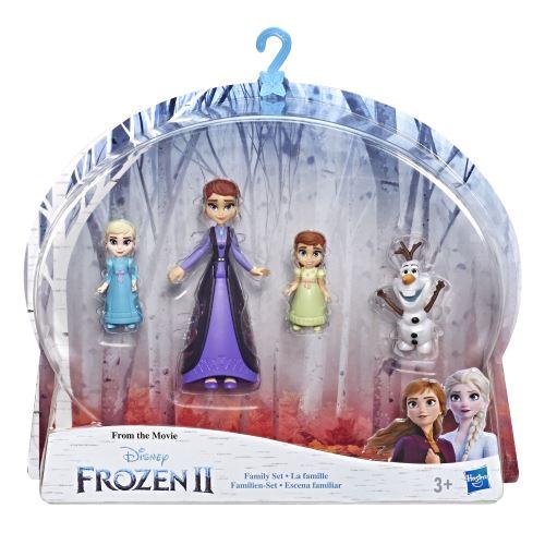 Set la famille Disney La reine des neiges 2 avec 4 figurines
