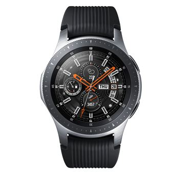 674552afdf83 Montre connectée Bluetooth Samsung Galaxy Watch 46 mm Gris Acier ...