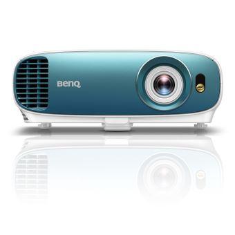 Vidéoprojecteur DLP BenQ TK800 UHD 4K Blanc et turquoise