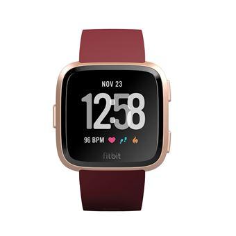 Montre connectée Fitbit Versa Rubis