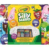 Mini kit artistique Crayola Silly Scents Feutres et crayons parfumés