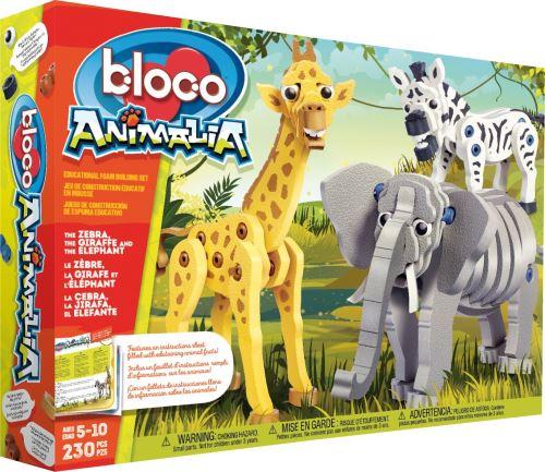 Kit créatif Bloco Girafe, Zèbre et Eléphant