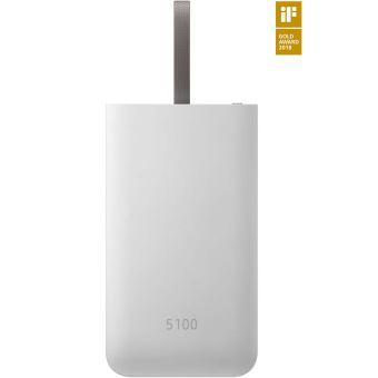 Batterie externe Samsung Charge rapide USB-C Combo 5100 mAh Gris