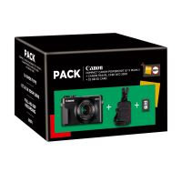 CANON G7X MARK II + CASE + C PACK