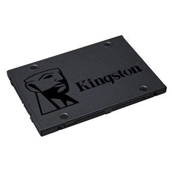 "Disque SSD Interne Kingston A400 Series SATA 2.5"" Rev 3.0 480 Go"