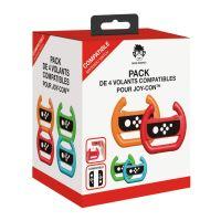 Pack Geek Monkeys van 4 stuurwielen  voor Nintendo Switch