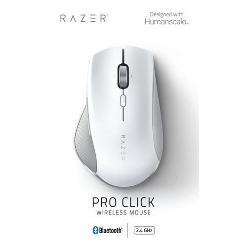 Souris filaire Razer Pro Click Blanc