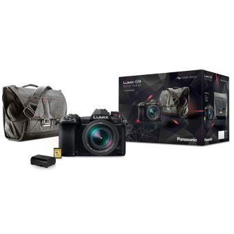 Hybride Pro Lumix G9 + Objectif Leica 12-60 mm f/2.8-4.0 + Sac Peak Design + Deuxième batterie + Carte SD 32Go