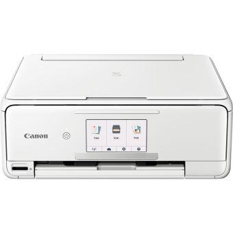 Imprimante Canon Pixma TS8151 Multifonction WiFi Blanche