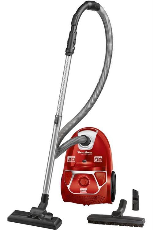 Aspirateur traîneau avec sac Moulinex Compact Power Parquet MO3953PA 750 W Rouge