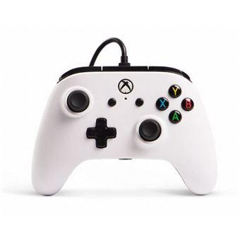 Manette Xbox One PowerA filaire Blanc