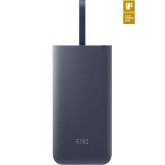 Batterie externe Samsung Charge rapide USB-C Combo 5100 mAh Bleu