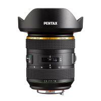 Objectif HD PENTAX-DA 11-18mm F2.8 ED DC AW Noir