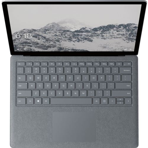 PC Ultra-Portable Microsoft Surface Laptop 13.5 Tactile Intel Core i5 8 Go RAM 128 Go Argent
