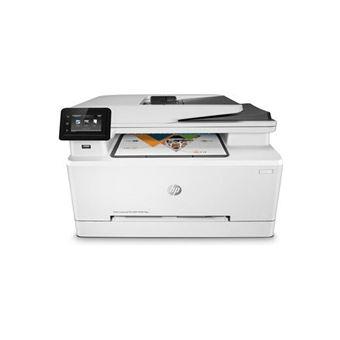 Imprimante HP Color LaserJet Pro M281fdw Multifonctions WiFi et Ethernet Blanche