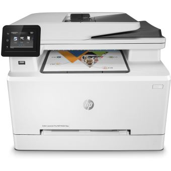 Imprimante HP Color LaserJet Pro M281fdw Multifonctions WiFi et Ethernet Blanche