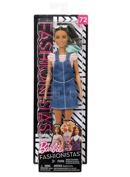 Poupée Barbie Fashionistas® Salopette Mattel - Poupée. Achat et vente de jouets, jeux de société, produits de puériculture. Découvrez les Univers Playmobil, Légo, FisherPrice, Vtech ainsi que les grandes marques de puériculture : Chicco, Bébé Confort, Mac