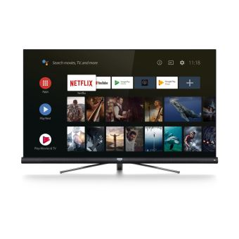 """TV TCL 65DC760 UHD 4K Smart Android TV 65"""" avec Barre de son JBL intégrée"""