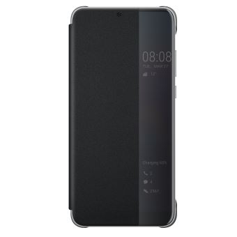 HUAWEI P20 PRO VIEW FLIP COVER BLACK