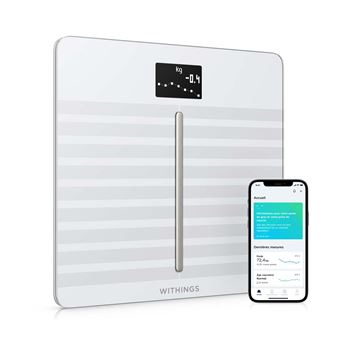 Pèse-personne connecté Withings-Nokia Body Cardio Blanc