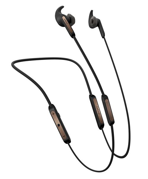 Ecouteurs sans fil Jabra Elite 45e Noir et cuivre