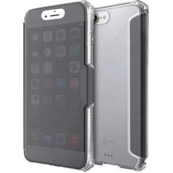 coque a rabat transparante iphone 8