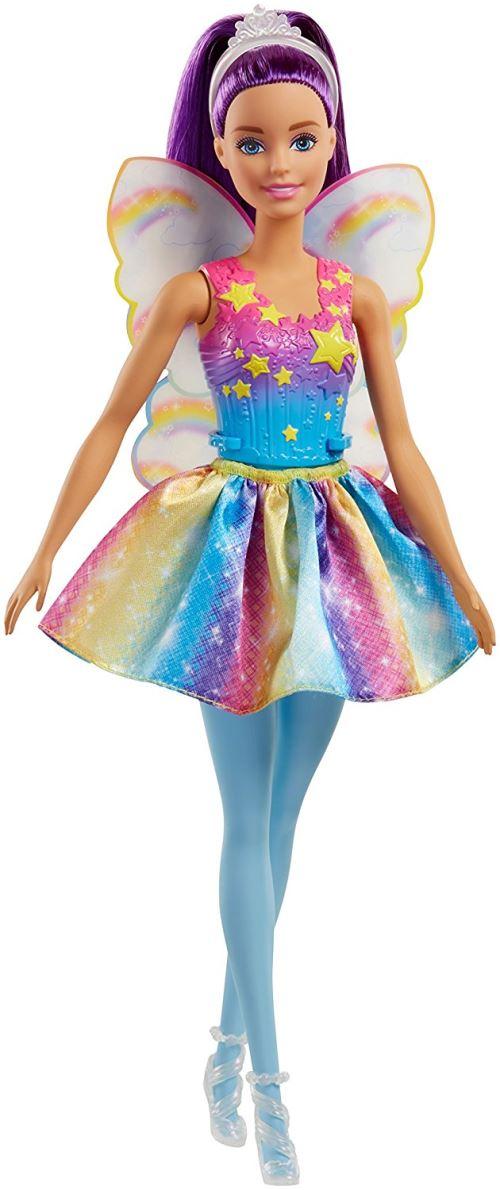 Poupée Barbie Dreamtopia Arc-en-ciel Fée Brune Mattel - Poupée. Achat et vente de jouets, jeux de société, produits de puériculture. Découvrez les Univers Playmobil, Légo, FisherPrice, Vtech ainsi que les grandes marques de puériculture : Chicco, Bébé Con