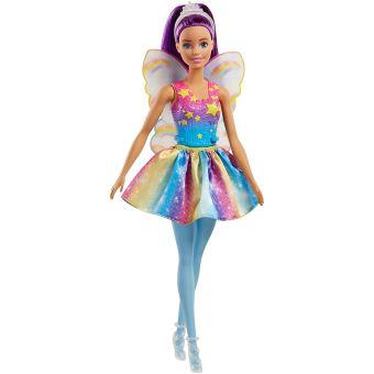 Poupée Barbie™ Dreamtopia Arc-en-ciel Fée Brune Mattel