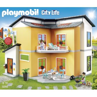 9266 Modern Woonhuis Maison Moderne Playmobil Fnac Be
