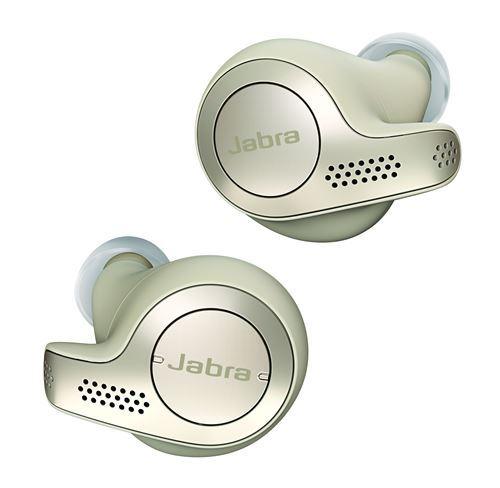 Ecouteurs sans fil True Wireless Jabra Elite 65t Beige et or