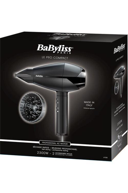 Sèche cheveux Babyliss Ac Compact 6720E 2300 W Noir